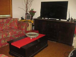 FURNITURE: BUFFET, LOUNGE, TV CABINET, WARDROBES Mountain Creek Maroochydore Area Preview
