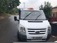 Ford transit tipper 09