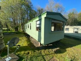 Perfect Starter Static Caravan For Sale In South Ayrshire! Bargain Now Available!