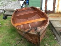 Dinghy/Tender. Fibre Glass 8ft.