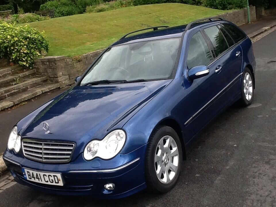 2005 MERCEDES C200 1.8 SE AUTO ESTATE ELEGANCE FULL LEATHER AND HISTORY