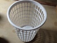 Laundry basket big size in grey