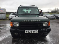 2001 land rover discovery mot's today 140k one of the better ones' no issues' wot so ever
