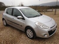 renault clio 1.5 dci expression 2009/59 plate 135k full service history 9 months mot £30 a year tax