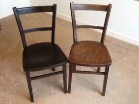 Two Vintage Lightweight chairs