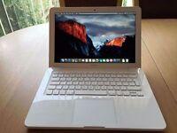 2.4Ghz White Apple MacBook Unibody 2GB 250GB Ableton Cubase DaVinci Resolve Final Cut Pro X Cubase