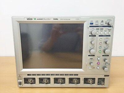 Lecroy Wavesurfer 104xs 1ghz 2.5gss 4ch Oscilloscope