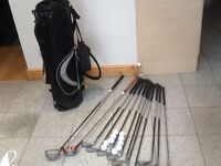 Several available-Golf sets-irons+ drivers + putter+ wedges+ 10 balls +tees-from £20 to £35 for sets