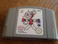 N64 Rakugakids game