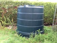 5000litre storage tank.