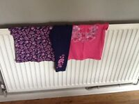 Girls aged 2-3 summer bundle x2 topss and X1 pair of matching leggings