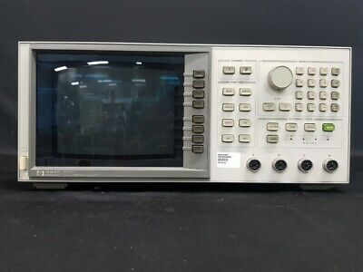 Hpagilent8757c 110 Ghz 4-ch Scalar Network Analyzer0836