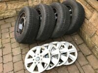 BMW wheels and winter tyres set for 320