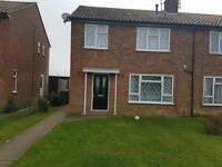 Three bed semi in leiston Suffolk seperate dining room looking for Norwich way similar size