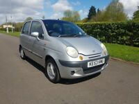 DAEWOO MATIZ SE+ HATCHBACK LOW MILLAGE, ONE YEAR MOT, LOW ROAD TAX
