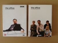 """""""The office"""" series 1 & 2 DVD box sets."""