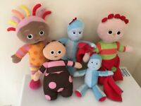 In the Night Garden soft toy bundle £10 for all collection from Shepshed. (or can post)
