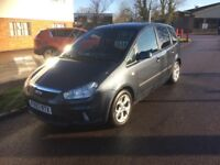 2008 FORD C-MAX 1.8TDCI DIESEL 72,000 MILES 1 PREVIOUS OWNER NEW MOT