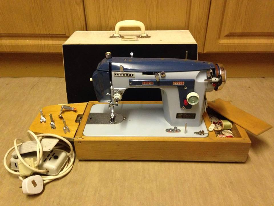 Vintage Janome New Home 40 Sewing Machine In Hoyland South Awesome How To Thread A New Home Sewing Machine