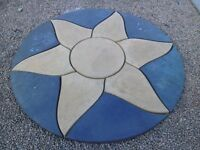 1.8m Concrete baby sun paving circle