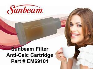 SUNBEAM FILTER ANTI-CALC CARTRIDGE PART # EM69101