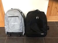 Laptop and sports bag