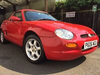MG MGF 1.8 for sale tons of paperwork, service history & hard top matching colour,