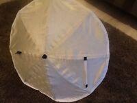 Emmaljunga sunshade for pram/pushchair