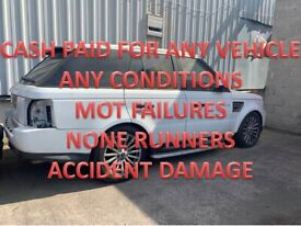 TOP MONEY PAID FOR UNWANTED SCRAP CARS VEHICLE NONE RUNNERS MOT FAILURES WOLVERHAMPTON