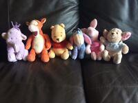 "Winnie The Pooh 5"" Teddy Set"
