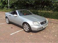 1997 Mercedes slk 230 kompressor auto convertible