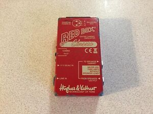 H&K Red Box - Guitar Cab Sim DI (Sell or trade for pedal) Raymond Terrace Port Stephens Area Preview