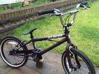 Yuka street bmx stunt bike child's ( like new )