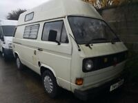 1981 Vw T3 T25 Camper Van