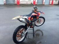 Ktm 450 sxf 2012 but brought to a 505