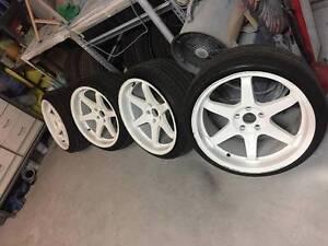 Varrstoen ES2 wheels & tyres Arundel Gold Coast City Preview