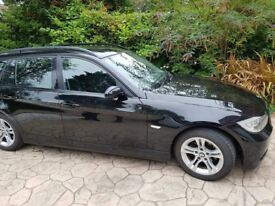BMW 318i SE TOURING, 2008, HIGH SPEC, ELECTRIC HALF LEATHER SEATS, FACTORY XENON LIGHTS. 6 SPEED.