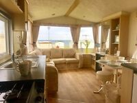 3 BEDROOM STATIC CARAVAN FOR SALE - FEES ALL IN - SEA VIEW PITCH - DURHAM - PET FRIENDLY - SALE SALE