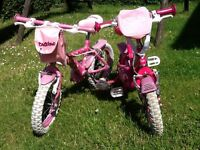 2 small pink bikes, suit 3-5years approximately, may be sold separately.