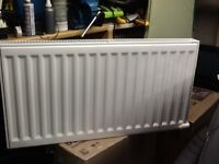 Electorad double electric radiator,1.5KW with built in programmer,cost £400 to buy,bargain £40
