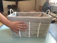 5 Woven Storage Baskets