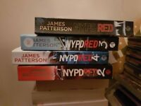 4 NYPD RED JAMES PATTERSON BOOKS IN EXCELLENT CONDITION