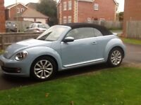 Volkswagon Beetle cabriolet. Excellent condition. Full service history and warranty till June 30th