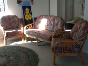 Cane lounge & dining suite Cleveland Redland Area Preview