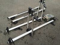 Cycle Carrier - Roof Bars - for 2 Bikes with locks
