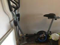 Cross trainer / exercise bike 2in1