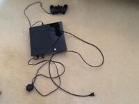 Sony PlayStation 4 with controller and cables model CUH - 1003A