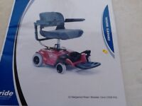 Mobility Scooter unused from new £450.00 can fit into a small car dismantled into 3 parts
