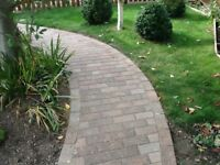 641 brindle pavers and quantity of cut pavers