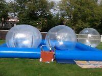 Zorb Zorbing balls 2 metre diameter leisure watersport fun